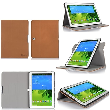 GearIT Spinner Folio Case Cover For Samsung Galaxy Tab Pro 10.1, Beige