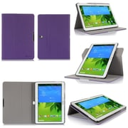 GearIT Spinner Folio Case Cover For Samsung Galaxy Tab Pro 10.1, Purple