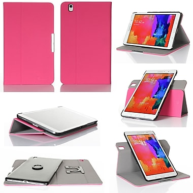 GearIT Spinner Folio Case Cover For Samsung Galaxy Tab Pro 8.4, Magenta