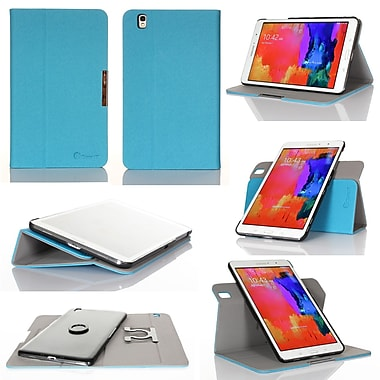 GearIT Spinner Folio Case Cover For Samsung Galaxy Tab Pro 8.4, Blue