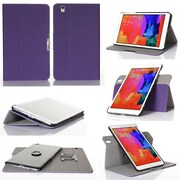 GearIT Spinner Folio Case Cover For Samsung Galaxy Tab Pro 8.4, Purple