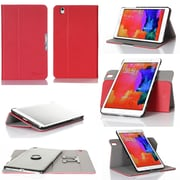 GearIT 360 SPINNER Folio Case Cover for Galaxy Tab Pro 8.4, Red