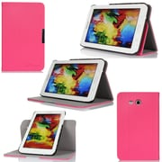 GearIT Spinner Folio Case Cover For Samsung Galaxy Tab 3 Lite 7.0, Magenta