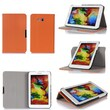 GearIT Spinner Folio Case Cover For Samsung Galaxy Tab 3 Lite 7.0, Orange