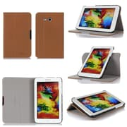 GearIT Galaxy Tab 3 Lite 7.0 Spinner Folio Case Cover, Beige