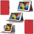 GearIT Spinner Folio Case Cover For Samsung Galaxy Tab 3 Lite 7.0, Red
