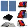 GearIT Spinner Folio Case Cover For Samsung Galaxy Note Pro 12.2, Dark Blue