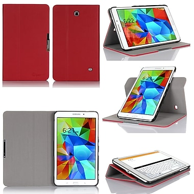 GearIT Spinner GA8TAB4360SPNRD Twill Fabric Folio Case for 8