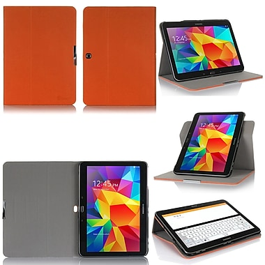 GearIT Spinner G10TAB4360SPNOR Twill Fabric Folio Case for 10.1