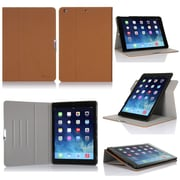 GearIT 360 SPINNER Rotating Folio Case Smart Cover for iPad Air, Beige