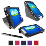 """rOOCASE Origami Case Cover For 8"""" Samsung Galaxy Tab 3, Black"""