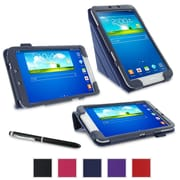 rOOCASE Origami Case Cover For 8 Samsung Galaxy Tab 3, Navy