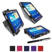 "rOOCASE Origami Case Cover For 10.1"" Samsung Galaxy Tab 3, Black"