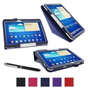 "rOOCASE Origami Case Cover For 10.1"" Samsung Galaxy Tab 3, Navy"