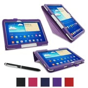 "rOOCASE Origami Case Cover For 10.1"" Samsung Galaxy Tab 3, Purple"