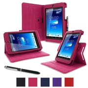 rOOCASE Dual-View Folio Case Cover For Asus MeMO Pad HD 7 ME173X, Magenta