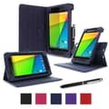 rOOCASE Dual-View Case Cover For Google Nexus 7 FHD, Navy