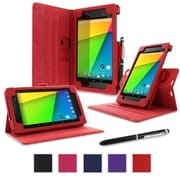 rOOCASE Dual-View Case Cover For Google Nexus 7 FHD, Red