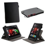 rOOCASE Dual-View Case Cover For 8.9 Amazon Kindle Fire HD, Black