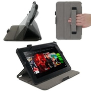 rOOCASE Slim-Fit Case Cover For 8.9 Amazon Kindle Fire HD, Black