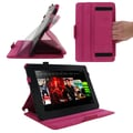 rOOCASE Executive Case For 8.9in. Amazon Kindle Fire HD, Magenta