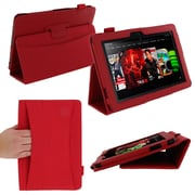 rOOCASE Dual Station Folio Case For 8.9 Amazon Kindle Fire HD, Red