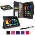rOOCASE Dual Station Folio Case Covers For Amazon Kindle Fire HDX 7in.