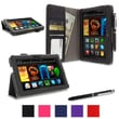 rOOCASE Dual Station Folio Case Covers For Amazon Kindle Fire HDX 7""
