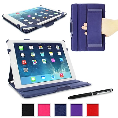 rOOCASE Slim-Fit Folio Case Cover For iPad Air 5th Generation, Navy