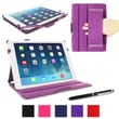 rOOCASE Slim-Fit Folio Case Cover For iPad Air 5th Generation, Purple