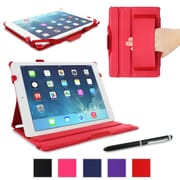 rOOCASE Slim-Fit Folio Case Cover For iPad Air 5th Generation, Red