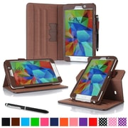 rOOCASE Dual-View Case Cover For 7 Samsung Galaxy Tab 4, Brown