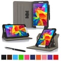rOOCASE Dual-View Folio Case Covers For Samsung Galaxy Tab 4 8.0