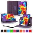 rOOCASE Dual-View Folio Case Cover For Samsung Galaxy Tab 4 8.0, Purple