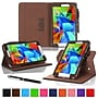 rOOCASE Dual-View Folio Case Cover For Samsung Galaxy