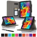 rOOCASE Dual-View Folio Case Cover For Samsung Galaxy Tab 4 10.1, Black