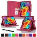 rOOCASE Dual-View Case Cover For 10.1in. Samsung Galaxy Tab 4, Magenta