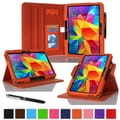 rOOCASE Dual-View Case Cover For 10.1in. Samsung Galaxy Tab 4, Orange