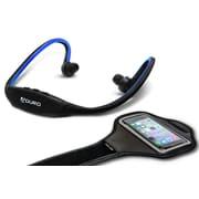 Aduro Sport Wireless Stereo Bluetooth Headset & Armband, Blue