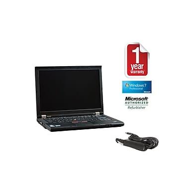 Refurb LENOVO T410 CORE I5-2.4GHz Processor, 4GB memory, 128GB SSD Hard drive, DVDRW, 14.1 Display, Windows 10 Pro 64bit
