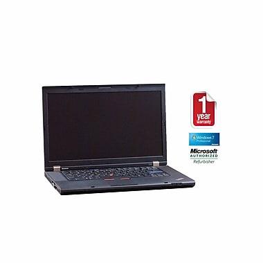 Refurb LENOVO T510 CORE i5-560m, 2.66GHz Processor, 4GB memory, 256GB SSD Hard drive, DVDRW, 15.5 Display, Windows 7 Pro 64bit
