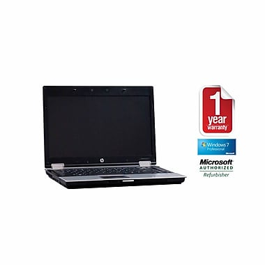Refurb HP 8440P CORE I5-2.4GHz Processor, 4GB memory, 750GB Hard drive, DVDRW, 14.1 Display, Windows 7 Pro 64bit