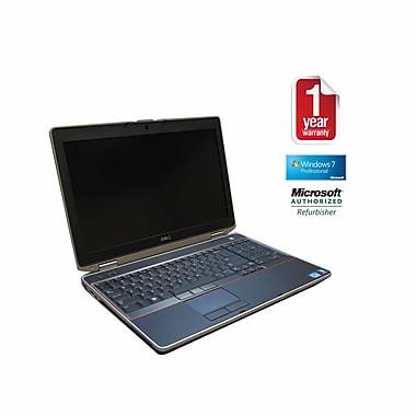Refurb DELL E6520 CORE I7-QUAD 2.2GHz Processor, 8G memory, 500GB Hard drive, DVDRW, 15.5 Screen, Windows 10 Pro 64bit w. Webcam