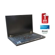 Refurb IBM T510 Core i5-2.53GHz Processor, 4GB memory, 250GB Hard drive, DVDRW, 15.5 Display, Windows 7 Pro 64bit with Webcam