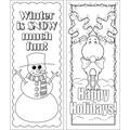 Barker Creek Celebrate Winter Bookmark Set