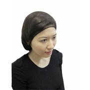 "Keystone 109HPI-18-BN-1BG Latex Free Nylon Brown Hair Net, 18"""