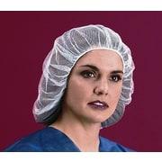 "Keystone 109HPI-28-WH Latex Free Nylon White Hair Net, 28"""