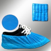 Keystone SC-CPE-LG-BL Polyethylene Shoe Covers, Blue
