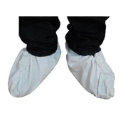 Keystone SC-KG White Polypropylene Shoe Covers, Large