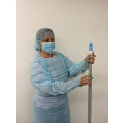 Keystone ISO-TL-47 Polyethylene Isolation Gown, Blue